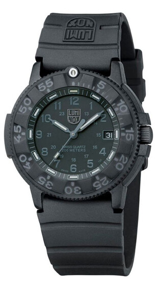 Luminox Original Navy Seals 43 mm (3001.BO) Black/Black